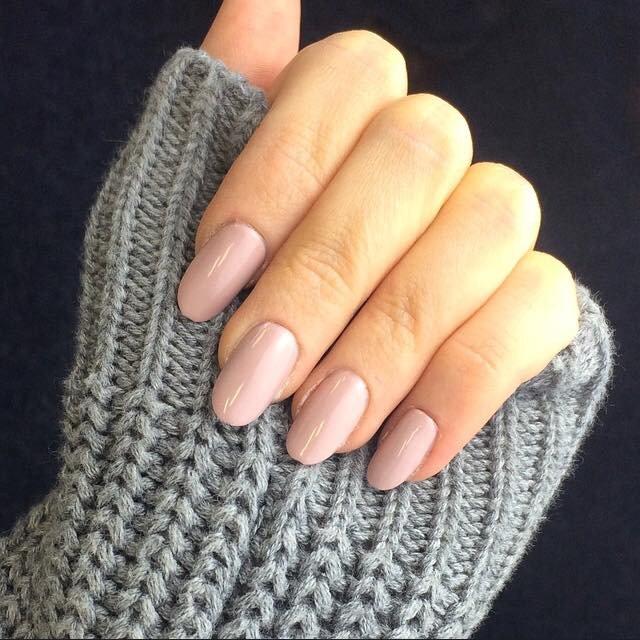 овальная форма ногтей - пример 3