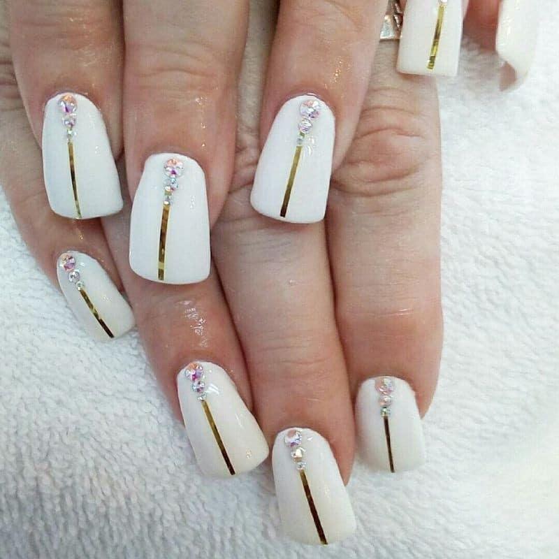 форма ногтей трапеция - пример 2