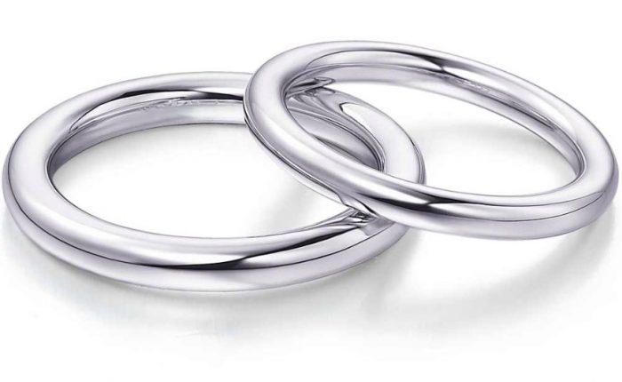 круглые обручальные кольца