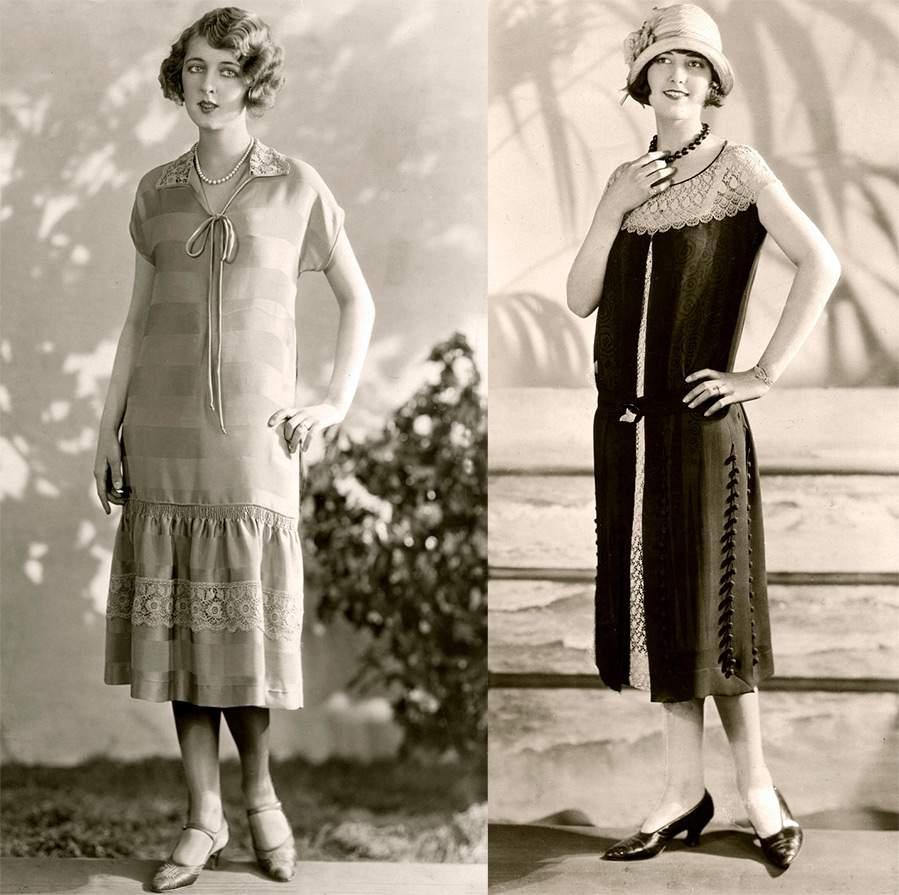 коктельные платья 20х годов