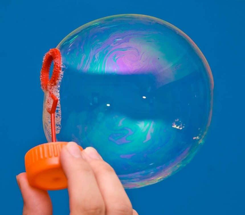 Мыльные пузыри для детей — сделай самостоятельно