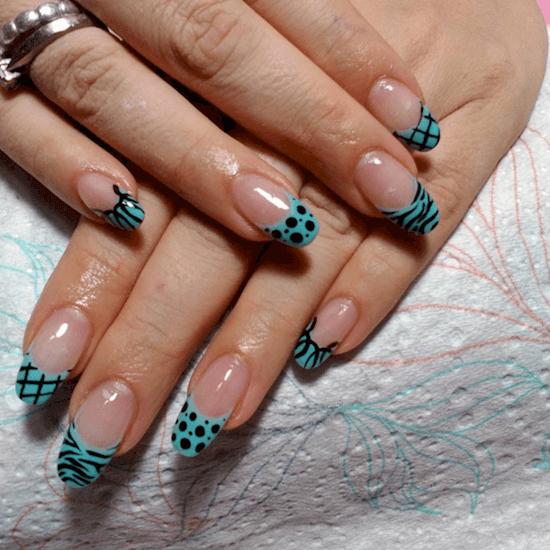 овальная форма ногтей - пример 4