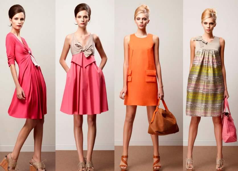 платьяе 70-80 годов