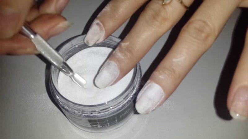 гель-пудра для ногтей 7