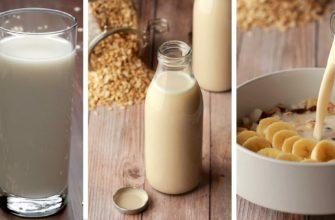 овсяное-молоко