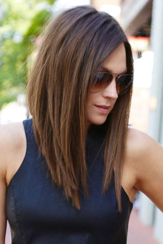 Итальянка стрижка на длинные волосы