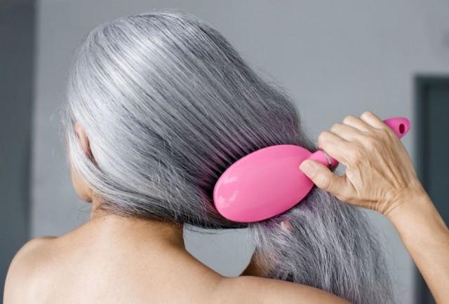 как убрать седые волоски